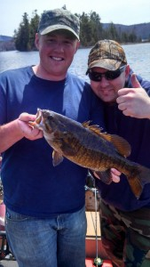 maine smallmouth bass fishing